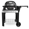 Weber®  Pulse 2000 + Rollwagen, Black